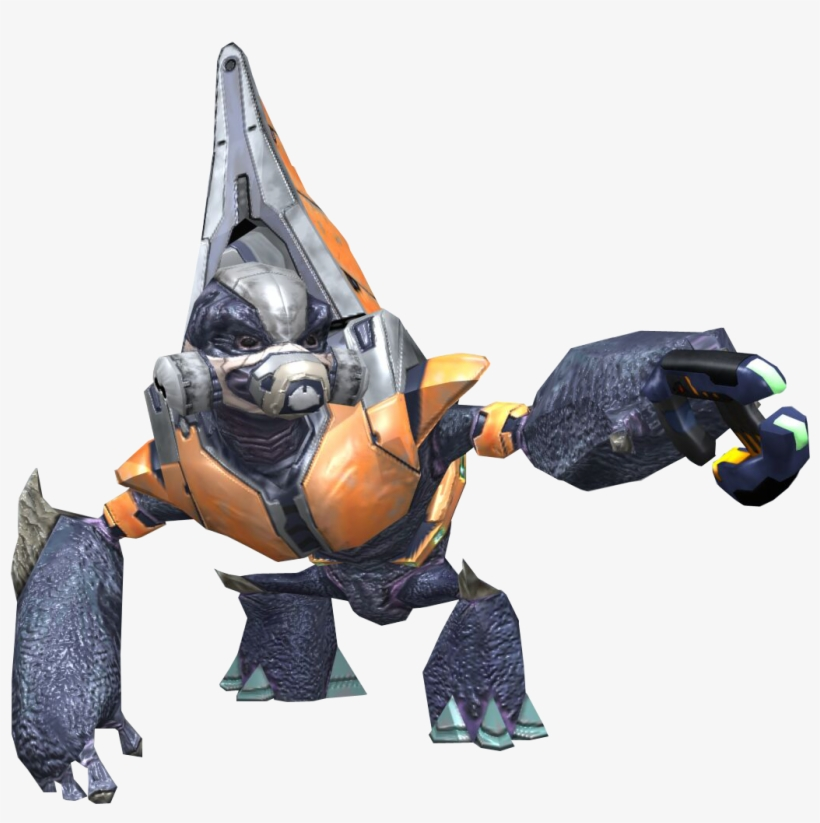 Halo - Halo 2 Grunt - Free Transparent PNG Download - PNGkey