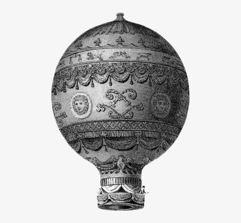 Vintage Hot Air Balloon Png - Hot Air Balloon Old, transparent png #228366