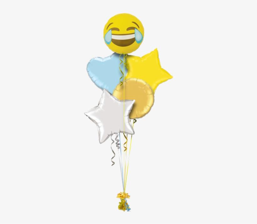 Emoji Crying Laughing Birthday Balloon