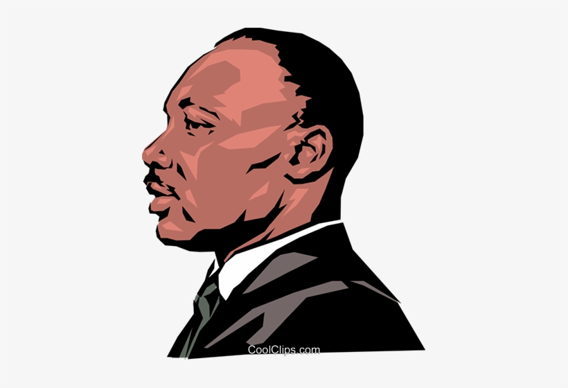 Martin Luther King Royalty Free Vector Clip Art Illustration - Martin Luther King Png, transparent png #229313