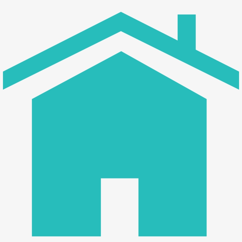 Teal House Icon Png - Free Transparent PNG Download - PNGkey