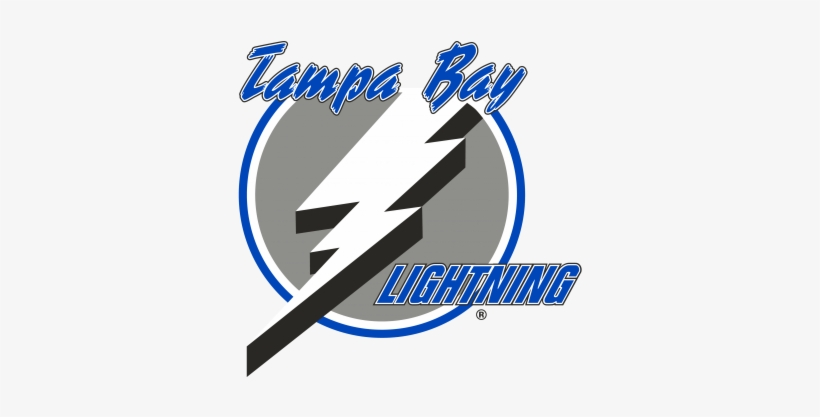 Tampa Bay Lightning Logo, 1992-2001 - 1997 Tampa Bay Lightning Logo, transparent png #2200105