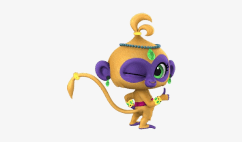 Shimmer And Shine Talah Thumbs Up - Tala De Shimmer Y Shine, transparent png #2201947