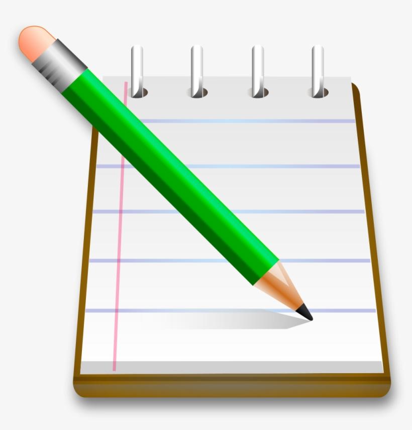 And Png Free - Notebook Pencil Transparent, transparent png #2202583