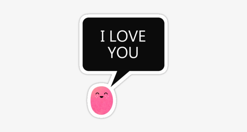 I Love You, Pink, And Redbubble Image - Keep Calm And I Love You Baby, transparent png #2202700