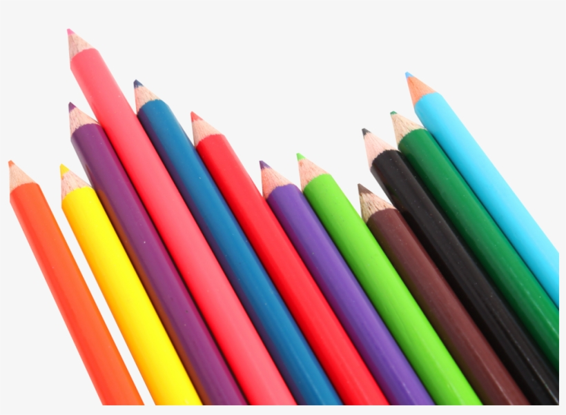 Pencil Free Vector Free Png Image - Color Pencils Png, transparent png #2202754