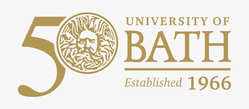The University Bath Png Logo - University Of Bath 50th Anniversary, transparent png #2203887