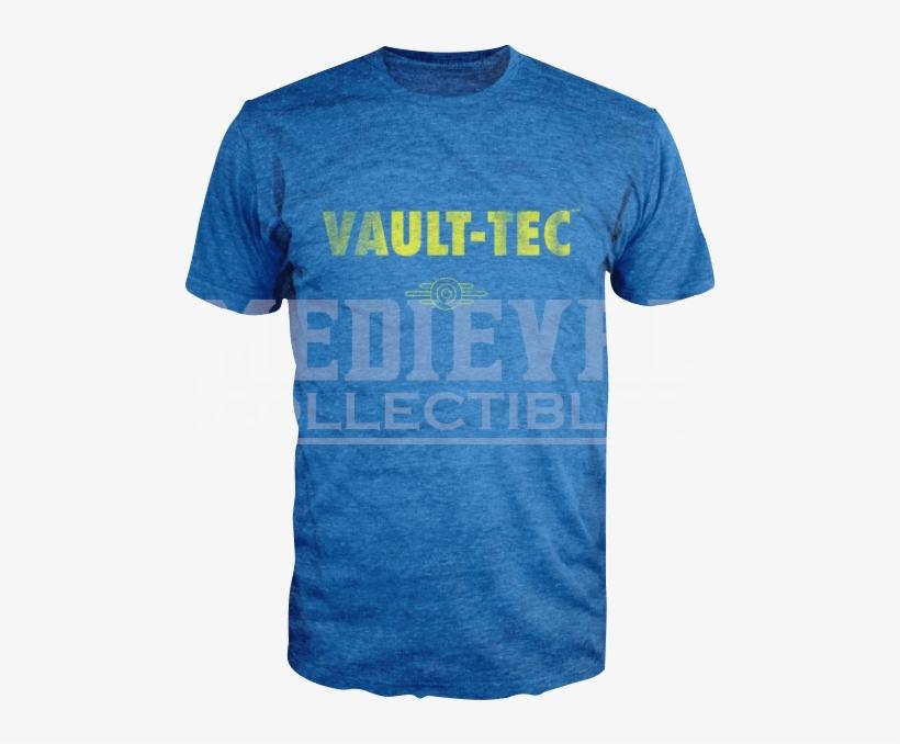 Fallout Vault Tec Mens T-shirt - T-shirt: Fallout- Vault Tec, S. T-shirt, transparent png #2204465