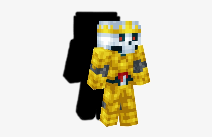 Skeletonking Zpsffepng Minecraft Skeleton King Skin Free Transparent Png Download Pngkey