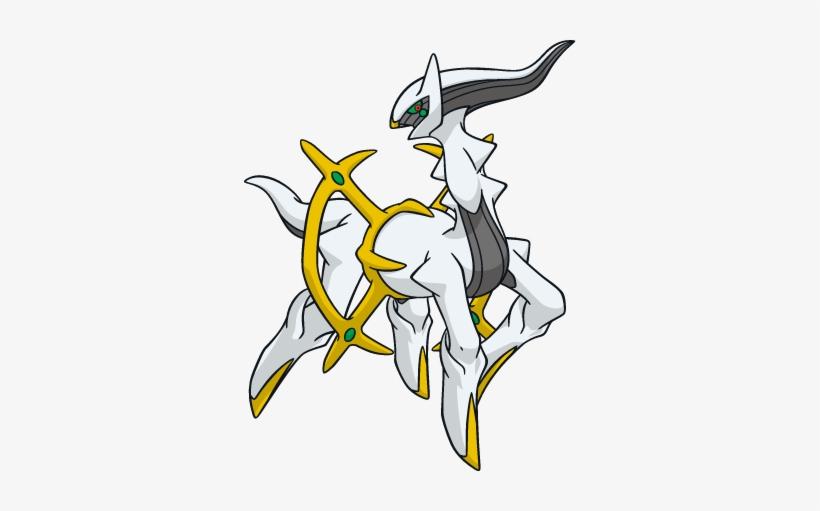 Arceus - Pokemon Shiny Arceus - Free Transparent PNG