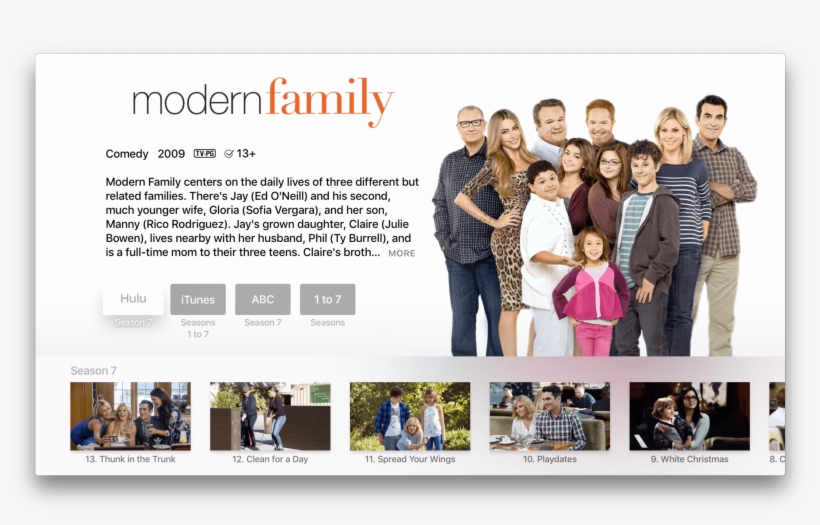 Apple Adds Disney Channel Disney And Watch Abc To Universal - Modern Family: Seasons 1-6 Dvd | Buy Dvd Online, transparent png #2210034