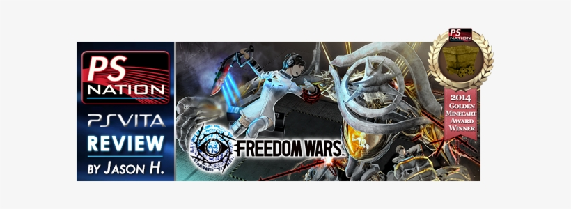 Freedom Wars Mc 2014 Review Banner - Playstation Freedom