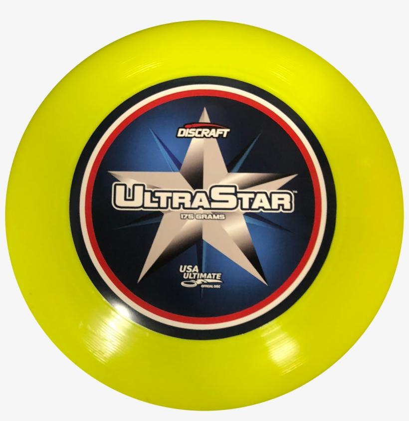 Supercolor Discraft Ultra Star Championship Ultimate - Discraft Ultra-star 175g Disc, Yellow, transparent png #2210431