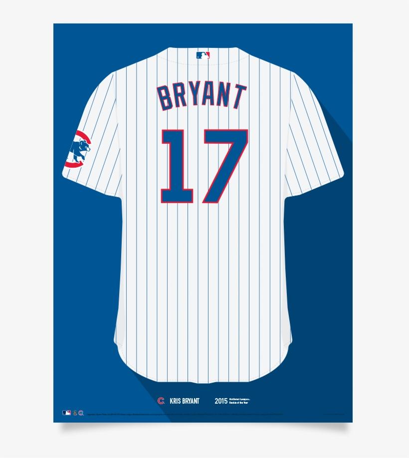 Cubs Kris Bryant Jersey Print - Chicago Cubs, transparent png #2210697