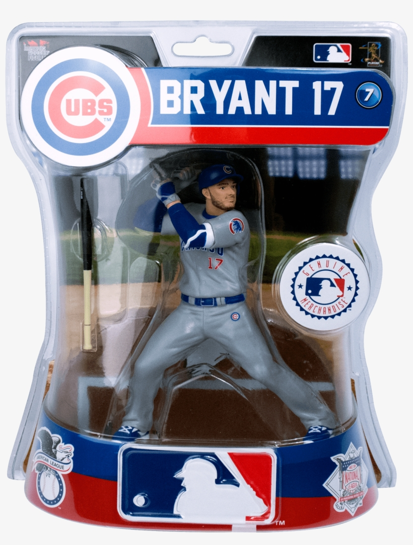 Bryant Out - Starting Lineup Kris Bryant, transparent png #2210842