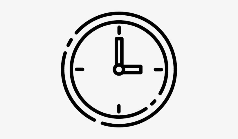 Clock With Pointers Vector - Icono Reloj De Agujas, transparent png #2212453