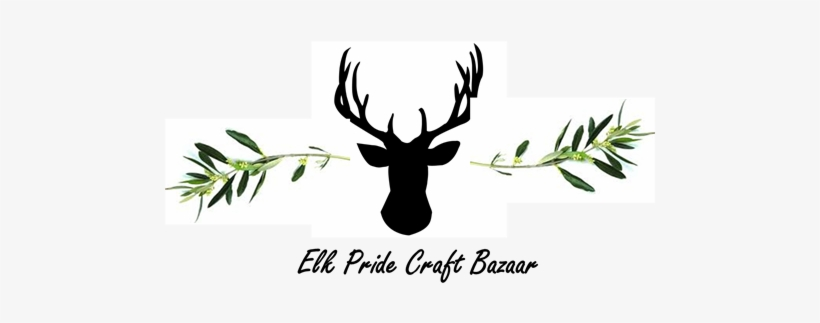 Elk Pride Craft Bazaar - Oliver Gal Deer Me Framed Printed Mirror Wall Art Black, transparent png #2212713