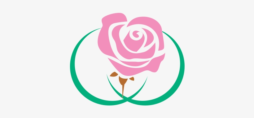 Pink Flower Clipart Logo Rose Flower Logos Free Transparent Png