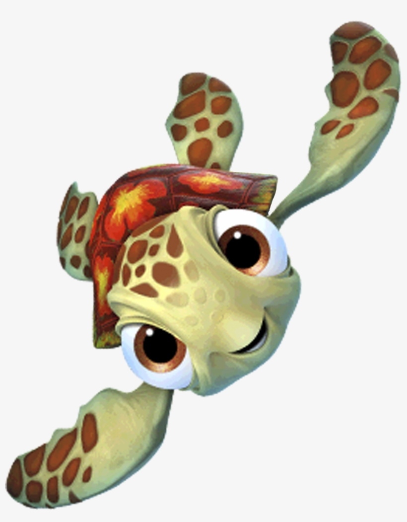 Squirt Finding Dory Png - Finding Nemo Transparent Background, transparent png #2216959