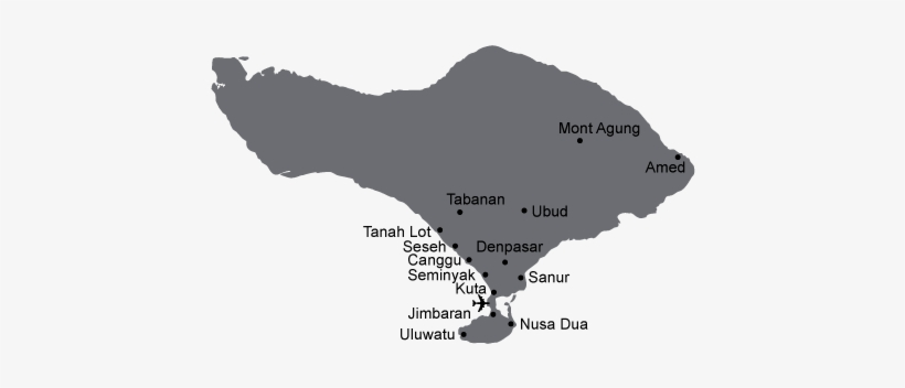 Bali Main Map Ok 2 Bali Map Vector Free Transparent Png