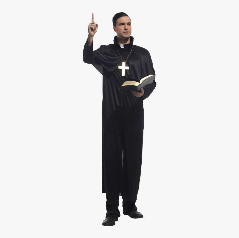 Buy Halloween Masquerade Theatrical Performances Of - Priest Clothing, transparent png #2221226