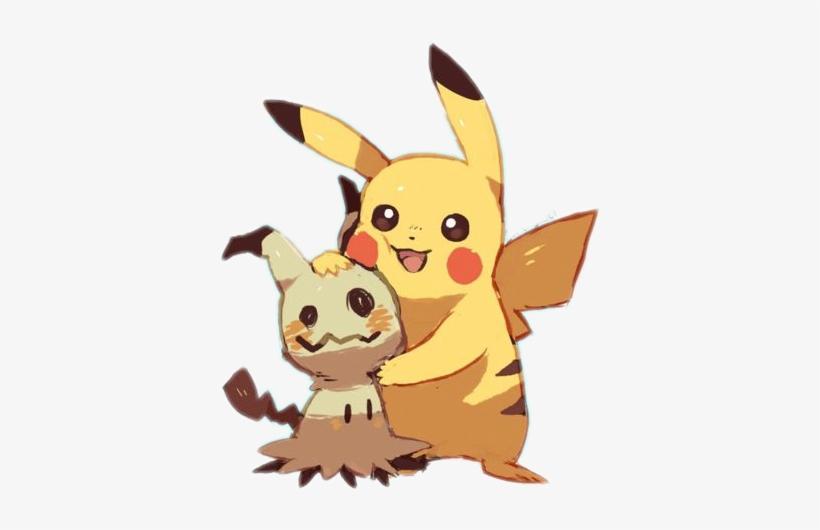 Pokemon Pikachu Mimikyu Electric Electricity Electrico Mimikyu Y