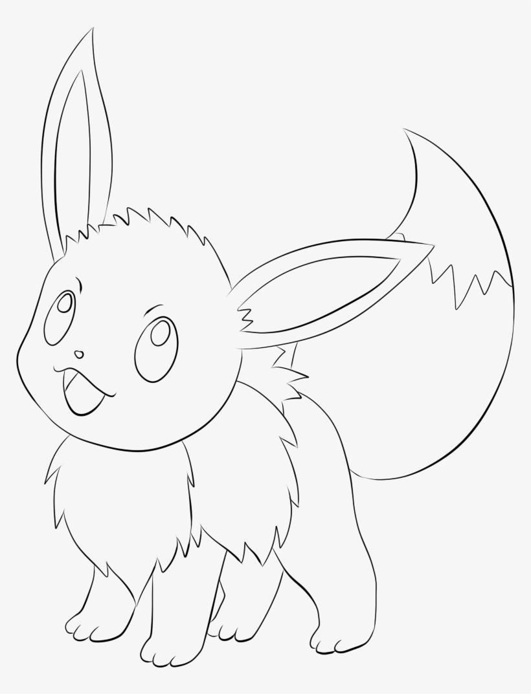 Pokemon Para Colorir Eevee Free Transparent Png Download Pngkey