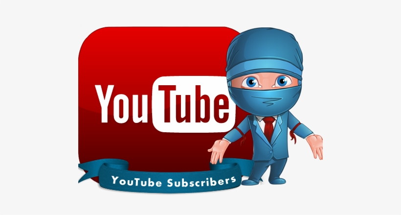 Youtube Subscribers - Youtube Logo Black, transparent png #2223083