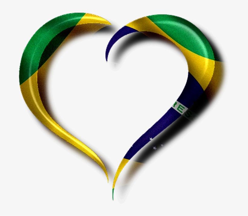 Imagens Bandeira Do Brasil - Molduras Da Bandeira Do Brasil, transparent png #2228381