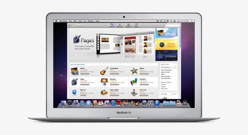 Apple Shuttering Os X Download Site On Jan 6 As Mac - Os X App Store, transparent png #2230945