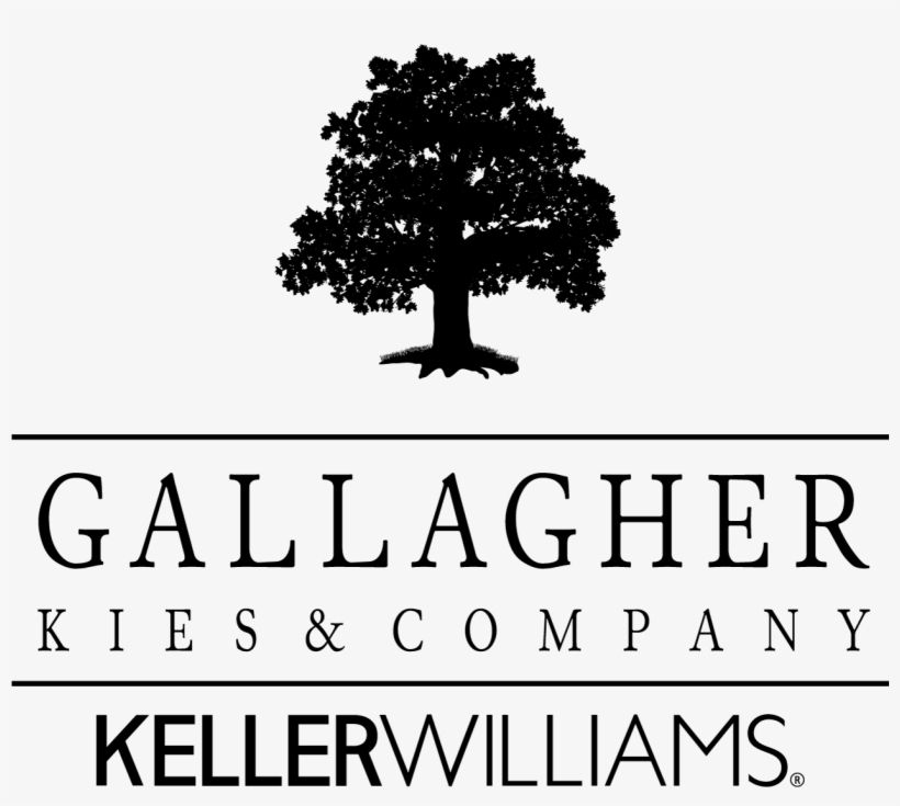 Gallagher Kies Kw Logo New Black - Three Oak Tree Vector, transparent png #2232062