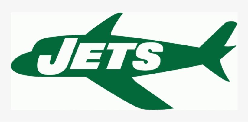 New York Jets Iron Ons - New York Jets Plane Logo, transparent png #2232108