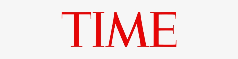 Time Logo - Time Magazine Cover Migrant Trump, transparent png #2232927