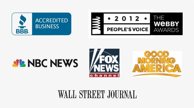 Various Press Logos - Wall Street Journal, transparent png #2235294