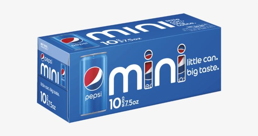 Dollar General - Pepsi 10 Pack Mini Cans, transparent png #2235812