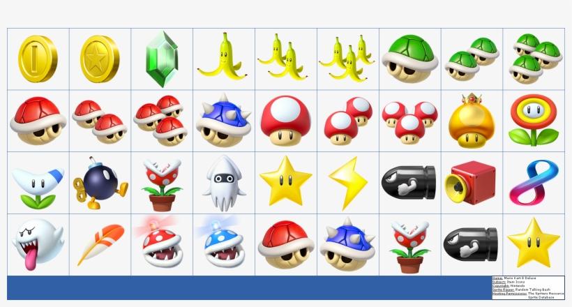 Randome Clipart Mario Kart - Mario Kart 8 Deluxe Items, transparent png #2238640