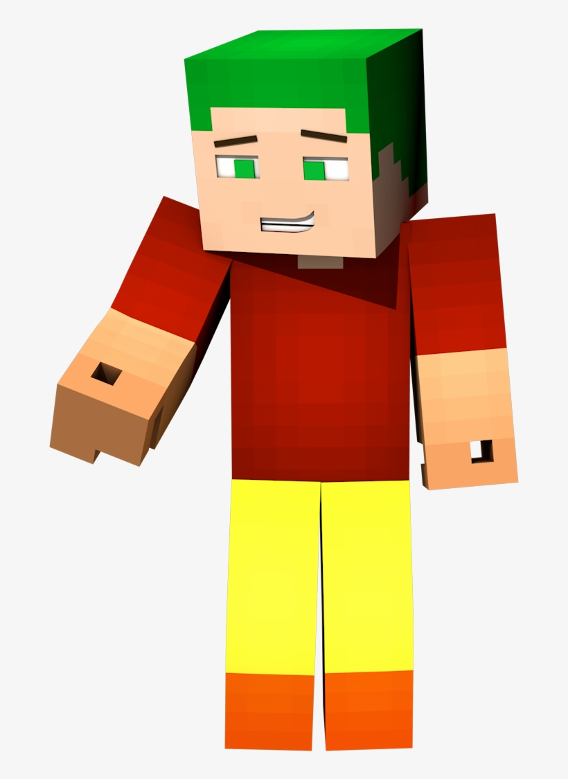 Bow Minecraft Transparent - Red Character Minecraft Png, transparent png #2239151