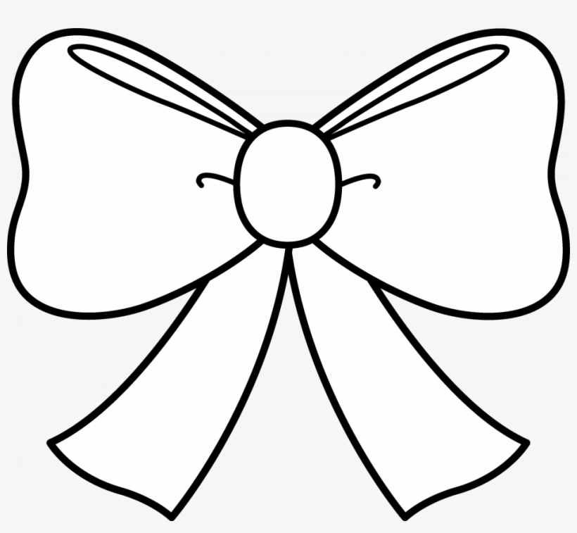 Bow Coloring Pages Barbie Skirt Bow Coloring Pages - Jojo Bow Coloring Pages, transparent png #2239297