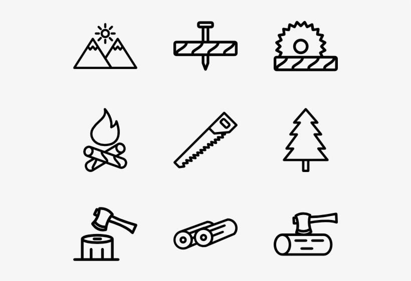 Lumberjack - Renewable Energy Icons, transparent png #2241412
