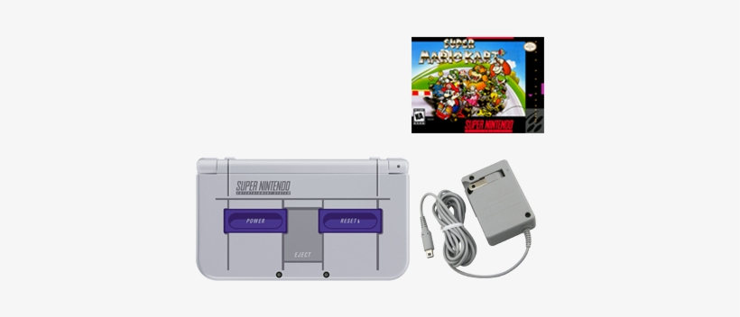 New Nintendo 3ds Xl Gaming Console With Your Choice - Nintendo 3ds Xl Snes Edition, transparent png #2242583