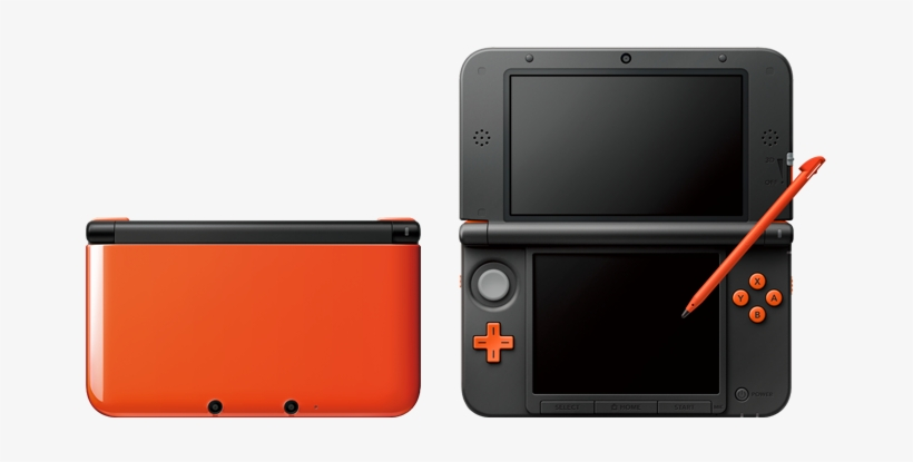 Nintendo Has Just Revealed A Pair Of 3ds Xl Limited - Nintendo New 3ds Xl Orange Black, transparent png #2244210