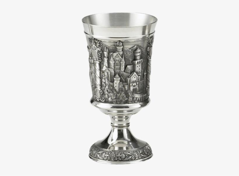 Neuschwanstein Chalice - Medieval Chalice, transparent png #2244416