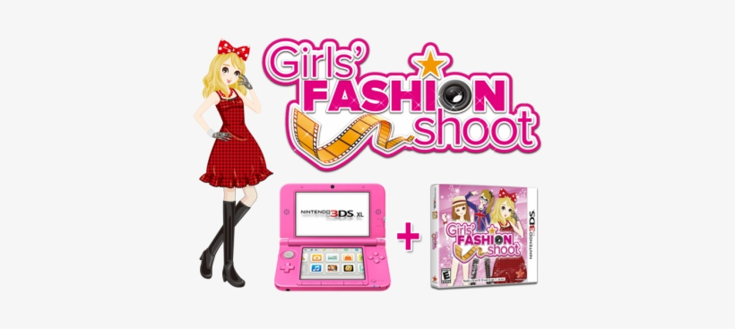 Rising Star Games And Aksys Games Have Teamed Up To - Girls Fashion Shoot Game 3ds, transparent png #2244852