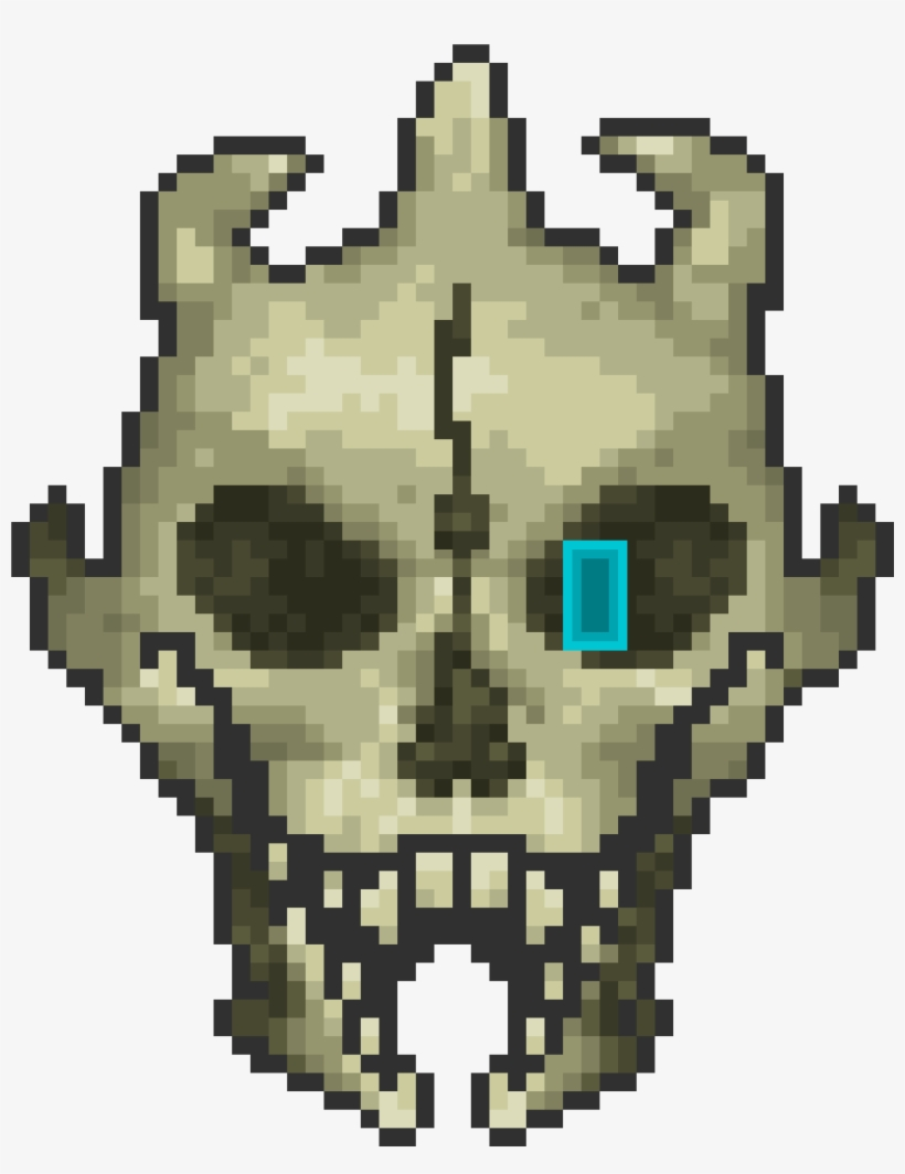 Terraria Undertale Roblox Head - Undertale Terraria, transparent png #2245001
