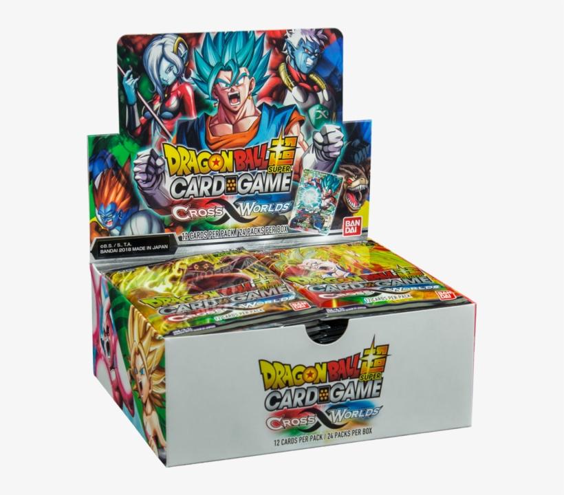 Dragon Ball Super Cross Worlds 10 Booster Pack Lot - Dragon Ball Super Booster Pack, transparent png #2245029