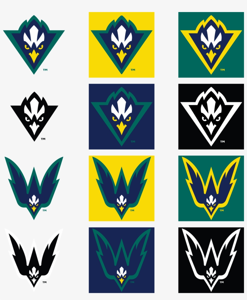 Nsoa4o2 - College Flags And Banners Co. Uncw Seahawks Garden, transparent png #2245770