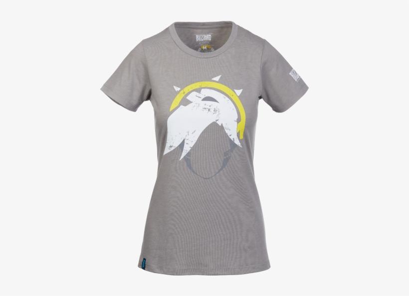 Overwatch Mercy Shirt - Blizzard T Shirt Women Small, transparent png #2246158