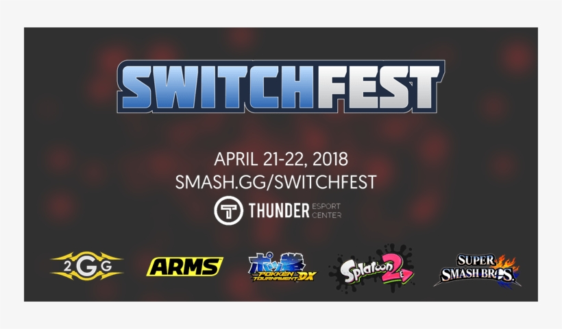 New 2gg Tournament Switchfest To Run Events For Arms, - Super Smash Bros. For Nintendo 3ds And Wii U, transparent png #2247281