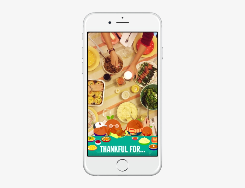 Thanksgiving Snapchat Geofilter - Thanksgiving Geofilter, transparent png #2247707