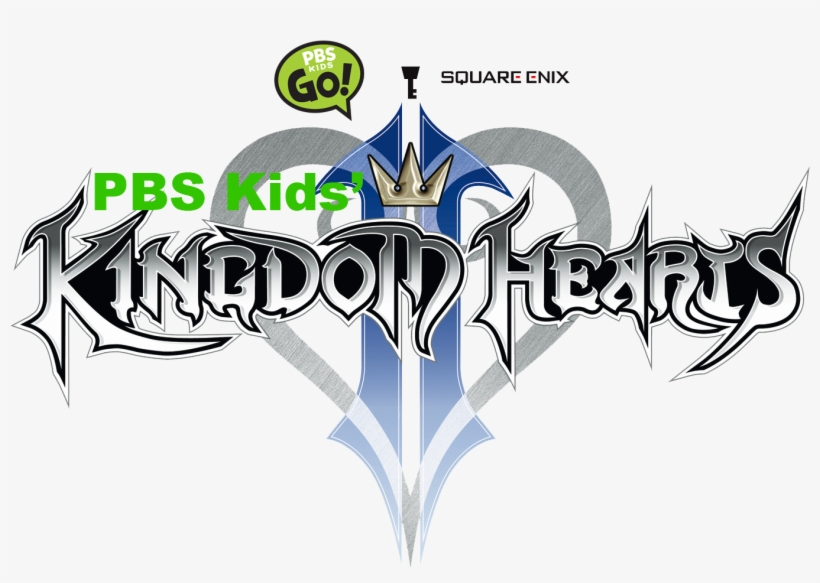 Pbs Kids' Kingdom Hearts Ii - Kingdom Hearts 2 Logo, transparent png #2247854